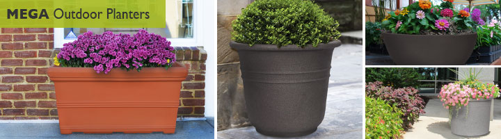 Mega Outdoor Planters