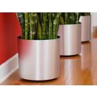 Vista Metallic Floor Planter