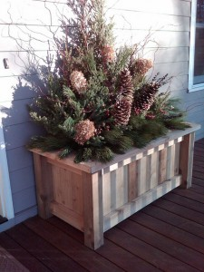 Simple Yet Elegant Elements for Winter Containers