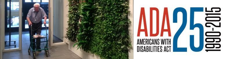 ADA Compliant Green Walls