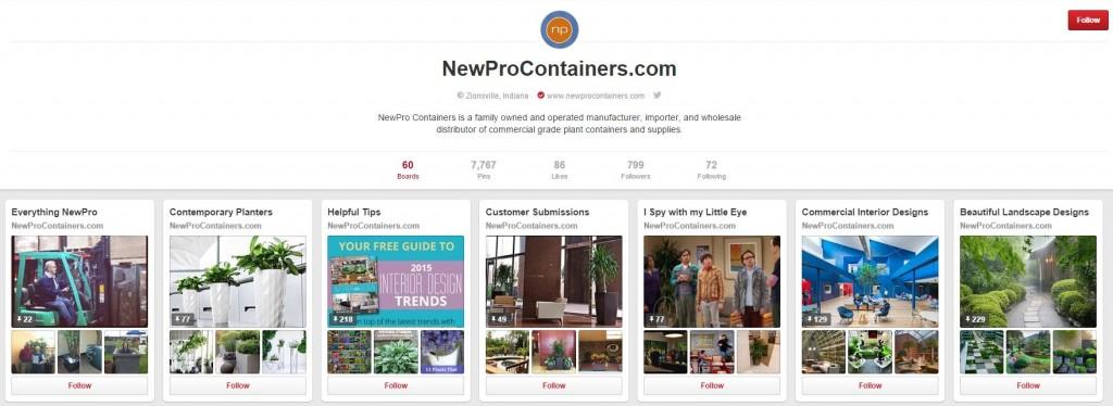 NewPro Pinterest