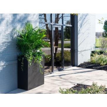 Aluminum Metal Rectangle Planter