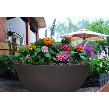 CurbSide Flat Bottom Bowl Planter