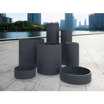 Jay Scotts Fiberglass Cylinder Planter