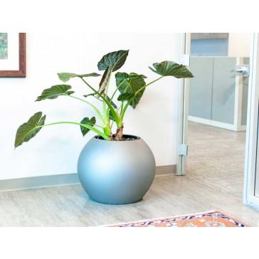 Globe Fiberglass Planter