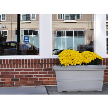 Mega Rectangle Faux Stone Planter