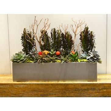 Vicksburg Rectangle Fiberglass Planter