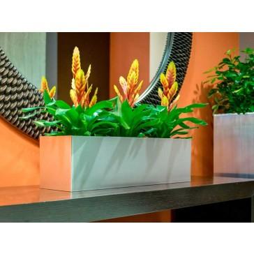 Vista Metallic Rectangle Planter