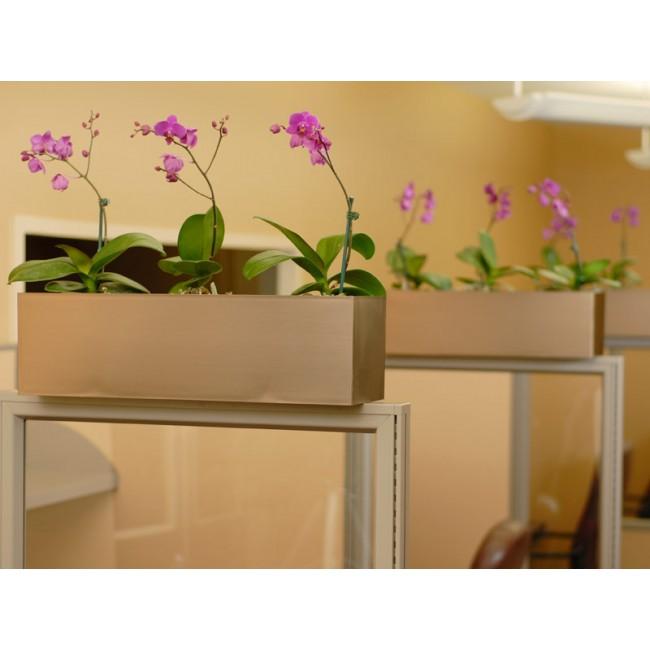 Large vista rectangle planter newpro - Cubicle planters ...