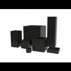 Jay Scotts Fiberglass Cube and Column Planter Collection