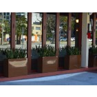 Milano Long Rectangle Fiberglass Planter