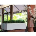 Weir Rectangle Fiberglass Planter