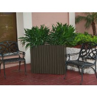 Barcelona Rectangle Fiberglass Planter