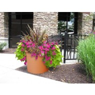 CurbSide Cylinder Planter
