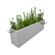 Hudson Rectangle Fiberglass Planter