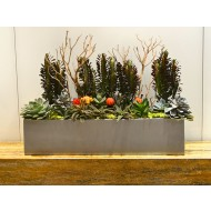 Vicksburg Rectangle Fiberglass Planter
