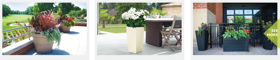 Commercial Outdoor Planters